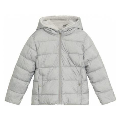 MANGO KIDS Kabát  svetlosivá
