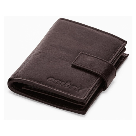 Ombre Clothing Men's leather wallet A347