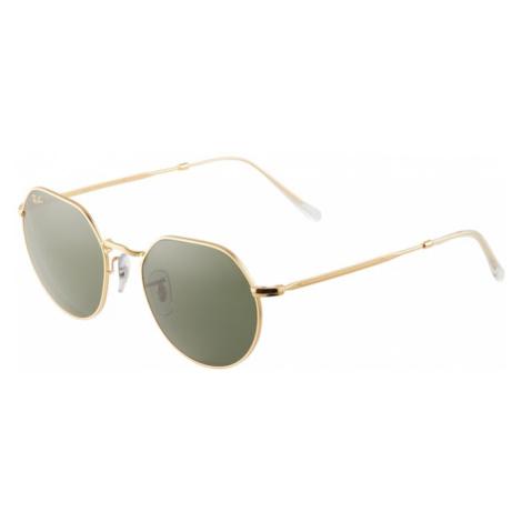Ray-Ban Slnečné okuliare '0RB3565'  zlatá / zelená