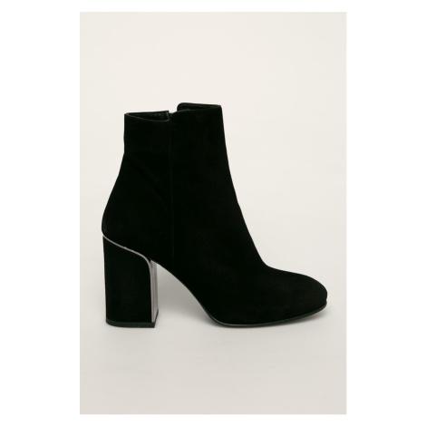 Badura - Kožené členkové topánky