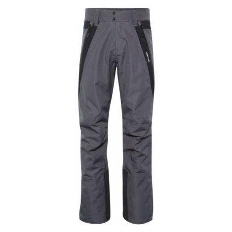 CHIEMSEE Outdoorové nohavice  čierna / tmavosivá