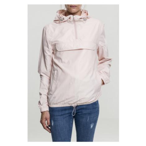 Urban Classics Ladies Basic Pullover light pink - Veľkosť:M