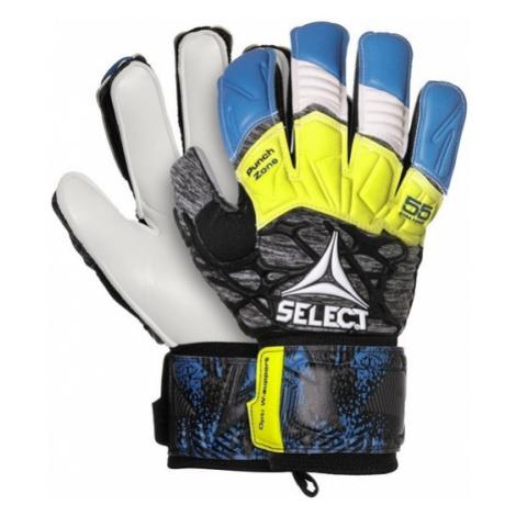 Brankárske rukavice Select GK gloves 55 Extra Force Flat cut modro sivá