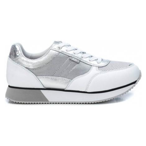XTi Dámske tenisky Silver Pu Combined Ladies Shoes Silver