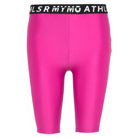 myMo ATHLSR Športové nohavice  ružová / čierna / biela