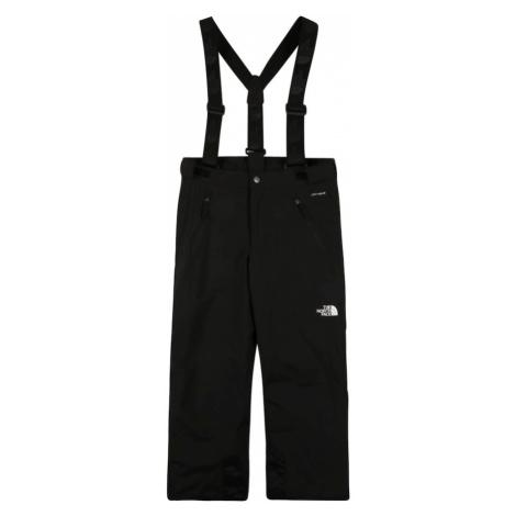 THE NORTH FACE Outdoorové nohavice 'SNOWQUEST SUSPENDER'  biela / čierna