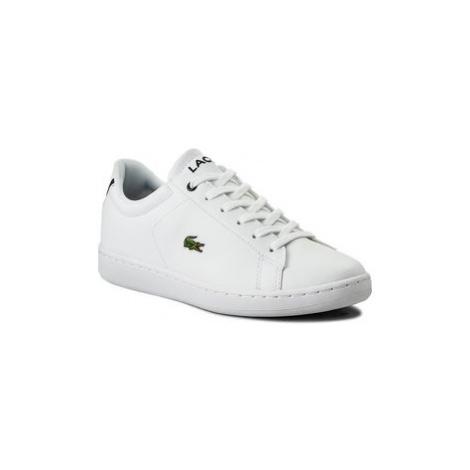 Lacoste Sneakersy Carnaby Evo Bl 1 Spj 7-33SPJ1003042 Biela