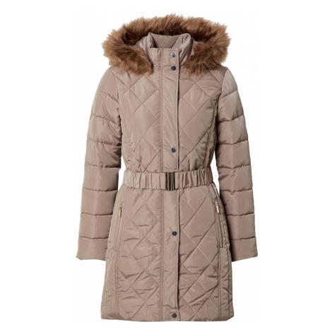 Dorothy Perkins Zimný kabát  svetlohnedá