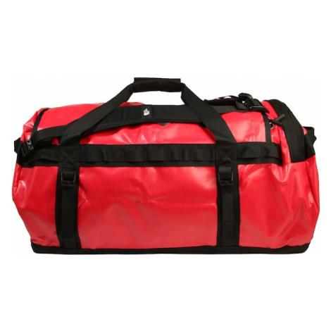THE NORTH FACE Cestovná taška 'Base Camp'  červená / čierna