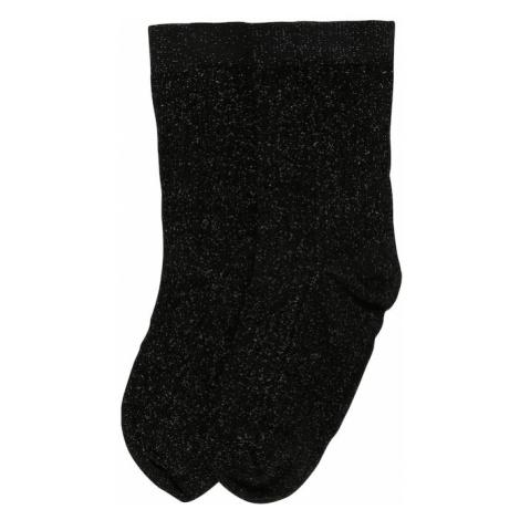 Swedish Stockings Ponožky 'Stella shimmery'  čierna