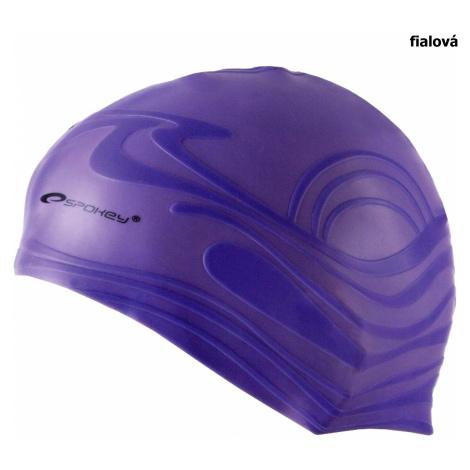 Plavecká čiapka SPOKEY Shoal - fialová