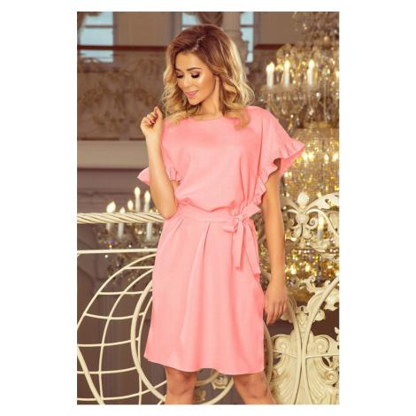 Dámske ružové mini šaty ITALIA 229-1