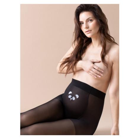Tehotenské pančuchové nohavice Fiore Mama Panda 20 deň W5003