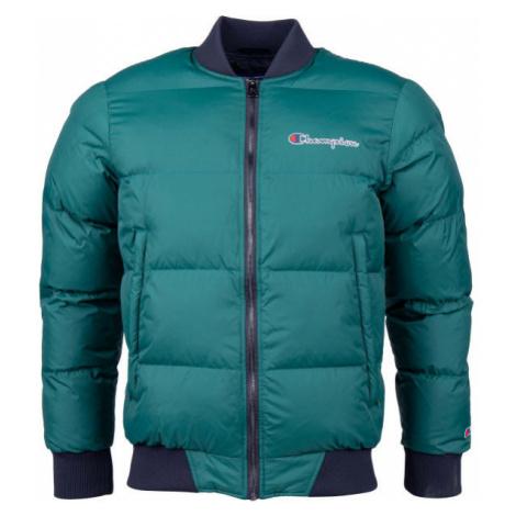 Champion BOMBER JACKET zelená - Pánska zimná bunda
