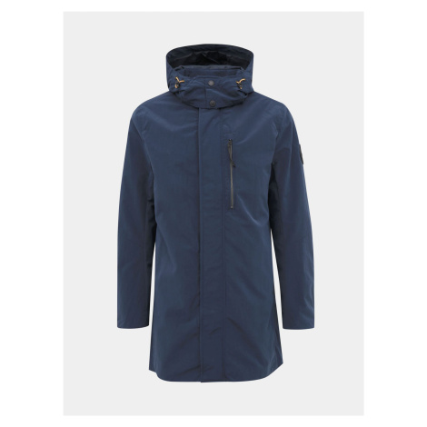 Tmavo modrá pánska voduodpudivá bunda Tom Tailor