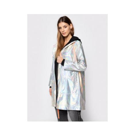 MAX&Co. Prechodný kabát Digitale 69019920 Strieborná Regular Fit