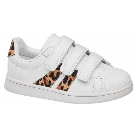 Cupcake Couture - Biele tenisky na suchý zips Cupcake Couture