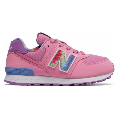 New Balance PC574TDP ružová - Detská voľnočasová obuv