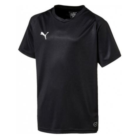 Puma LIGA JERSEY CORE JR čierna - Detské tričko