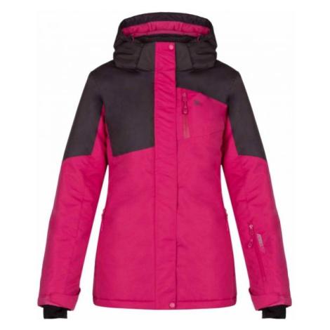 Loap LAKIA fialová - Dámska zimná bunda