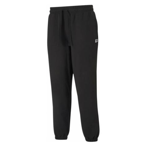 PUMA Športové nohavice 'Downtown'  čierna / biela
