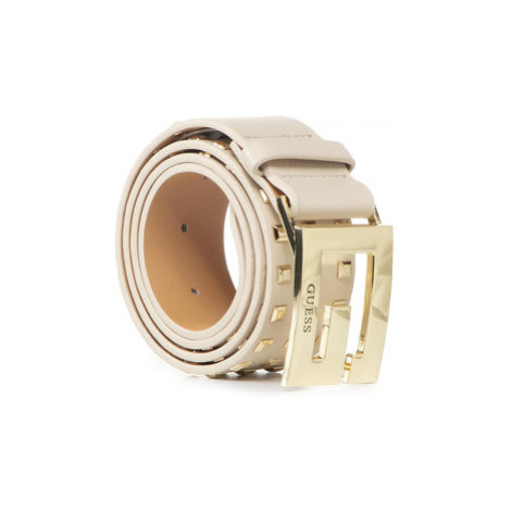 Guess Dámsky opasok Brightside (VS) Belts BW7313 P0230 Béžová