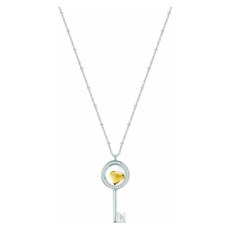 Morellato Strieborný náhrdelník s elementom Scrigno D`Amore SAMB30 (retiazka, prívesok)