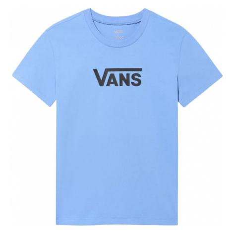 Vans Wm Flying V Crew Tee Ultramarine-XS modré VN0A3UP4ULT-XS
