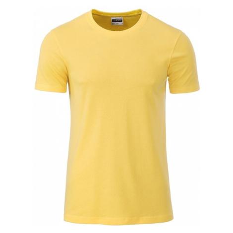 James & Nicholson Klasické pánske tričko z biobavlny 8008