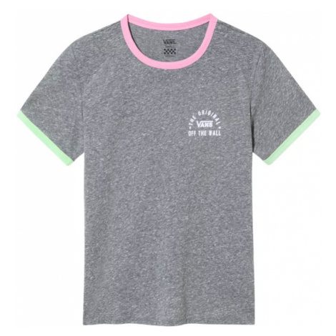 Vans Wm Rally Bell Grey Heather/Fuchsia Pink-L šedé VN0A4DNQV5O-L