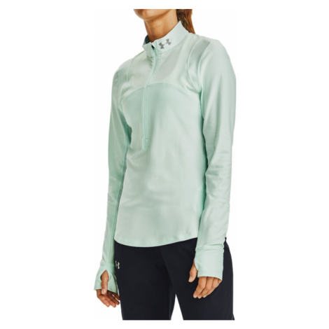 Mikina UNDER ARMOUR Qualifier Half Zip Green Zelená