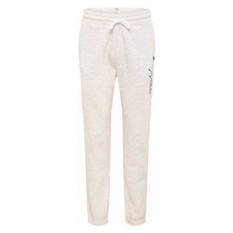 HOLLISTER Nohavice  čierna / biela melírovaná