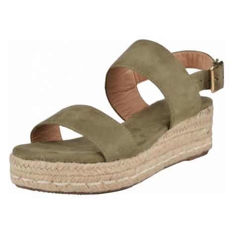 ABOUT YOU Sandále 'Lynn'  kaki