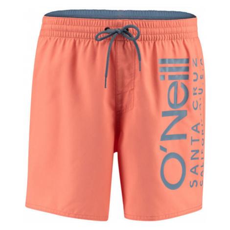 O'Neill PM ORIGINAL CALI SHORTS oranžová - Pánske kúpacie kraťasy