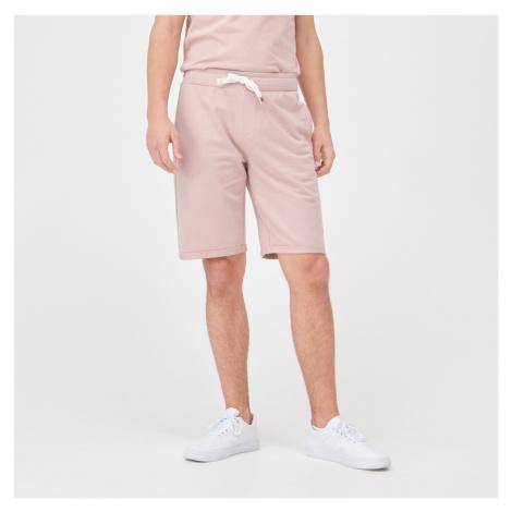 Sinsay - Teplákové šortky - Ružová