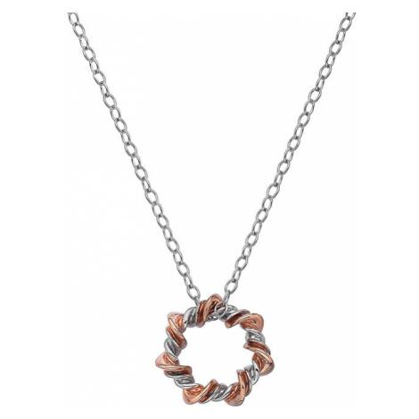 Hot Diamonds Strieborný náhrdelník s diamantom Vine DP753