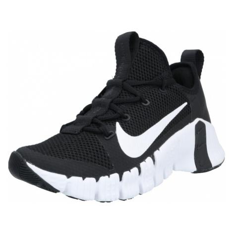 NIKE Športová obuv 'Free Metcon 3'  čierna / biela
