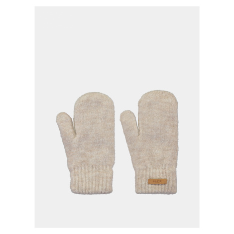 Krémové dámske rukavice Barts