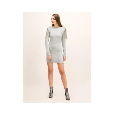 Patrizia Pepe Úpletové šaty 2A1991/A5P2-S259 Regular Fit