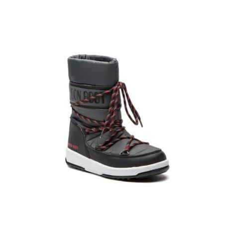 Moon Boot Snehule Sport Jr Wp 34051300005 Sivá