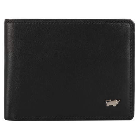 Braun Büffel Pánska kožená peňaženka Golf 2.0 90327-051 - černá