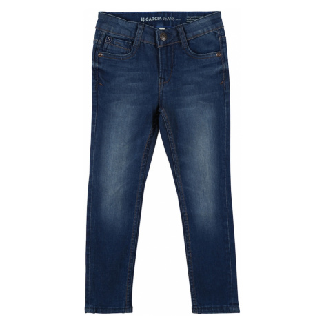 GARCIA Džínsy  modrá denim Garcia Jeans