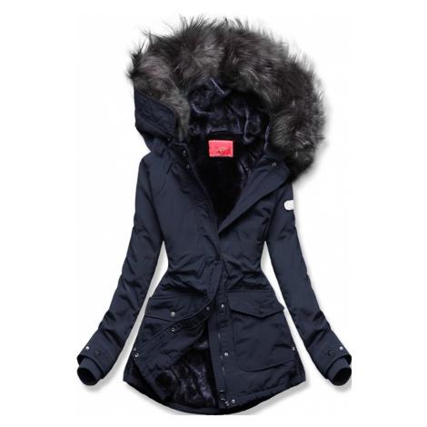 MODOVO Zimná bunda tmavomodrá
