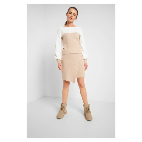 Zavinovacia sukňa z úpletu Orsay