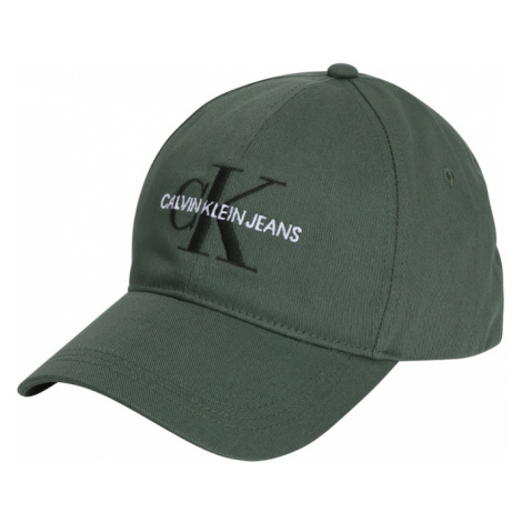 Calvin Klein Jeans Čiapka  zelená / čierna / biela