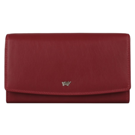 Braun Büffel Dámska kožená peňaženka Golf 2.0 90455-051 - červená