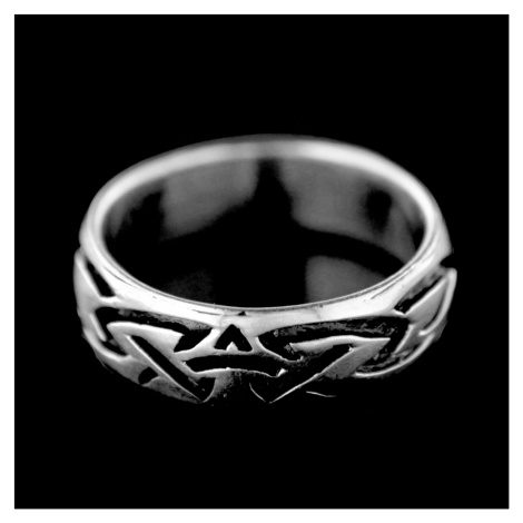 Strieborný prsteň 15397