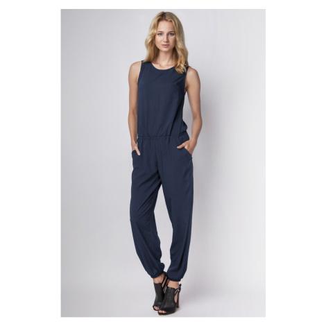 Lanti Woman's Jumpsuit Kb101 Navy Blue