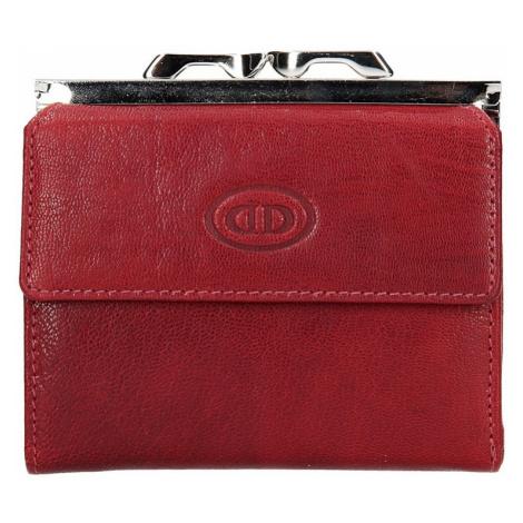 Dámska kožená peňaženka DD Anekta Linda - červená