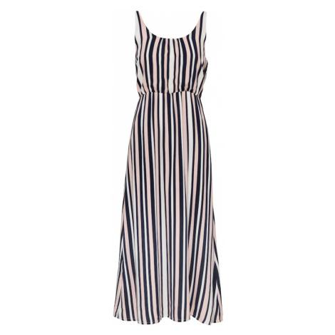 ABOUT YOU Letné šaty 'Jana'  ružová / námornícka modrá